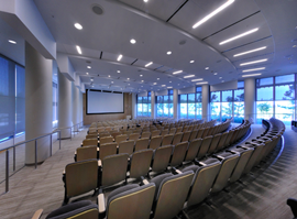 University of Florida Research and Academic Center auditorium
